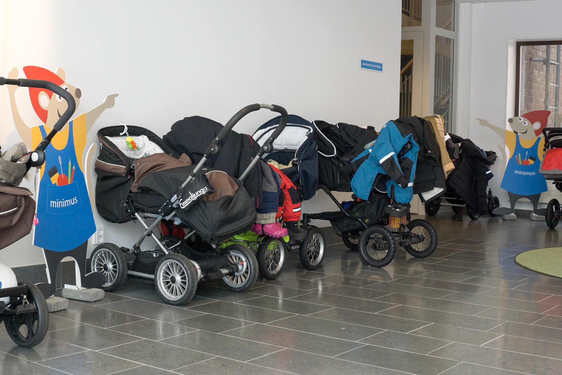 Barnvagnsparkering